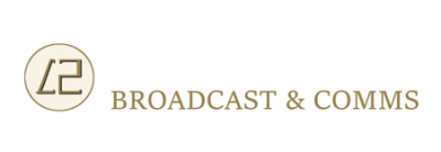 L2 BROADCAST AND COMMS Logo